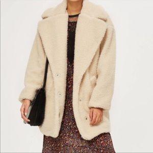 Topshop teddy borg coat Sherpa jacket